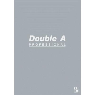 【10入組】Double A B5/18K膠裝筆記本-灰40頁(橫線內頁)