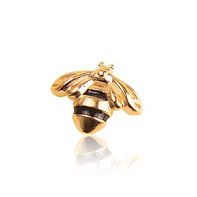 Pandora 潘朵拉 鍍18k女王蜂造型小墜飾 純銀配件