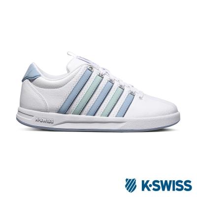 K-Swiss Court Pro S CMF休閒運動鞋-女-白/粉藍/粉綠