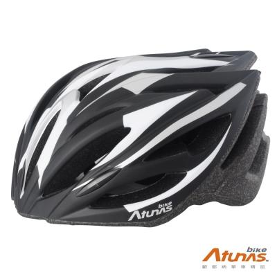 《Atunas Bike》歐都納單車HE1601MOTION安全帽 消光黑/灰/白