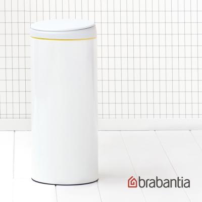 Brabantia 新掀式垃圾桶-30L純淨白