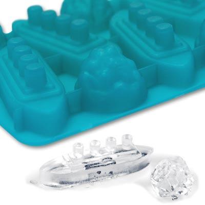 鐵達尼號(船)、冰山創意製冰盒(製冰器)
