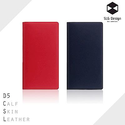 SLG Design iPhone X D5 CSL 經典小牛皮 側掀式真皮皮套