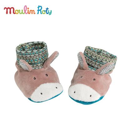 Moulin-Roty小驢造型嬰兒專用保暖腳套