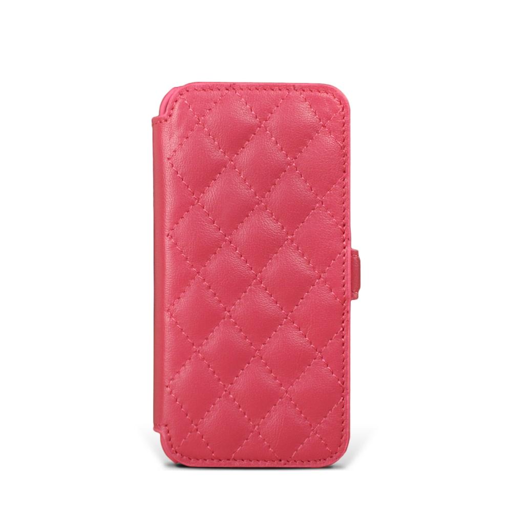 STORY皮套王 APPLE iPhone 5 / 5S / SE 硬殼式側翻菱格 客製化