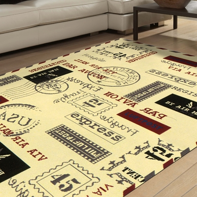 范登伯格 - 寶萊 美式流行地毯 - 印戳 (160 x 225cm)