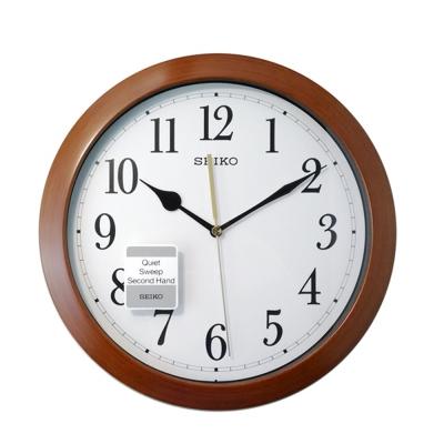SEIKO 精工 巧奪天工設計 完美靜音實力時鐘掛鐘(QXA 597 B)-28.2cm