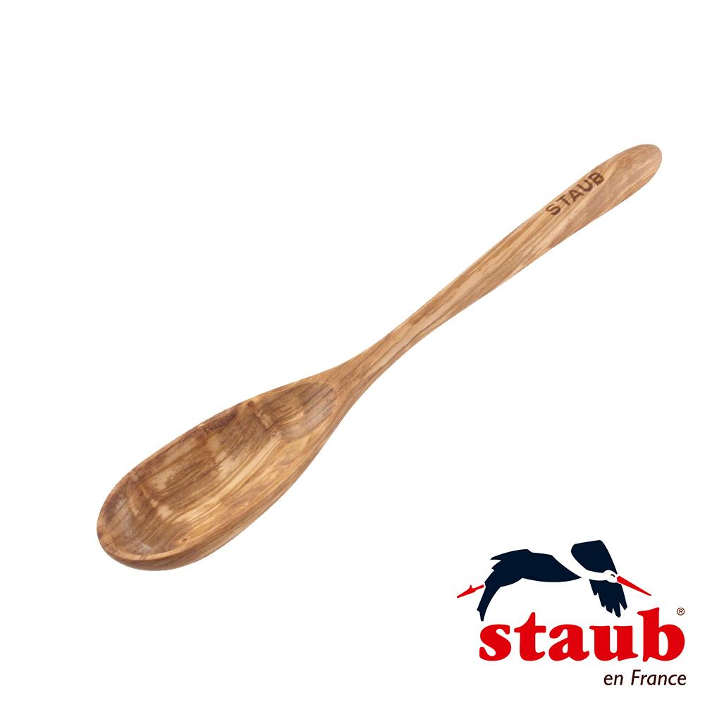 法國 Staub 橄欖木湯匙 31cm