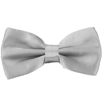 Alpaca 銀灰色基本款領結