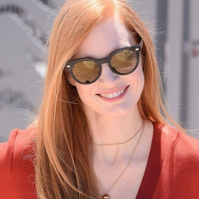 OLIVER PEOPLES太陽眼鏡 歐美貓眼款/深邃琥珀-水銀#DORE 1611Y9