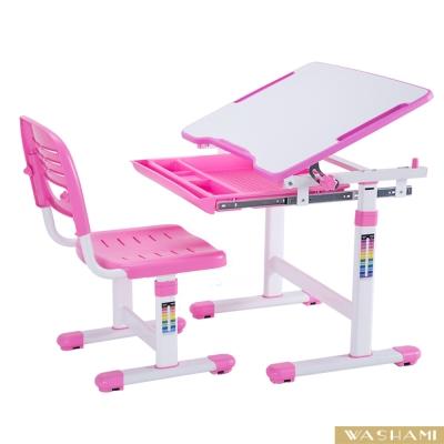 WASHAMl-WSH日式快樂兒童升降學習桌椅(ESP201版全動可調)