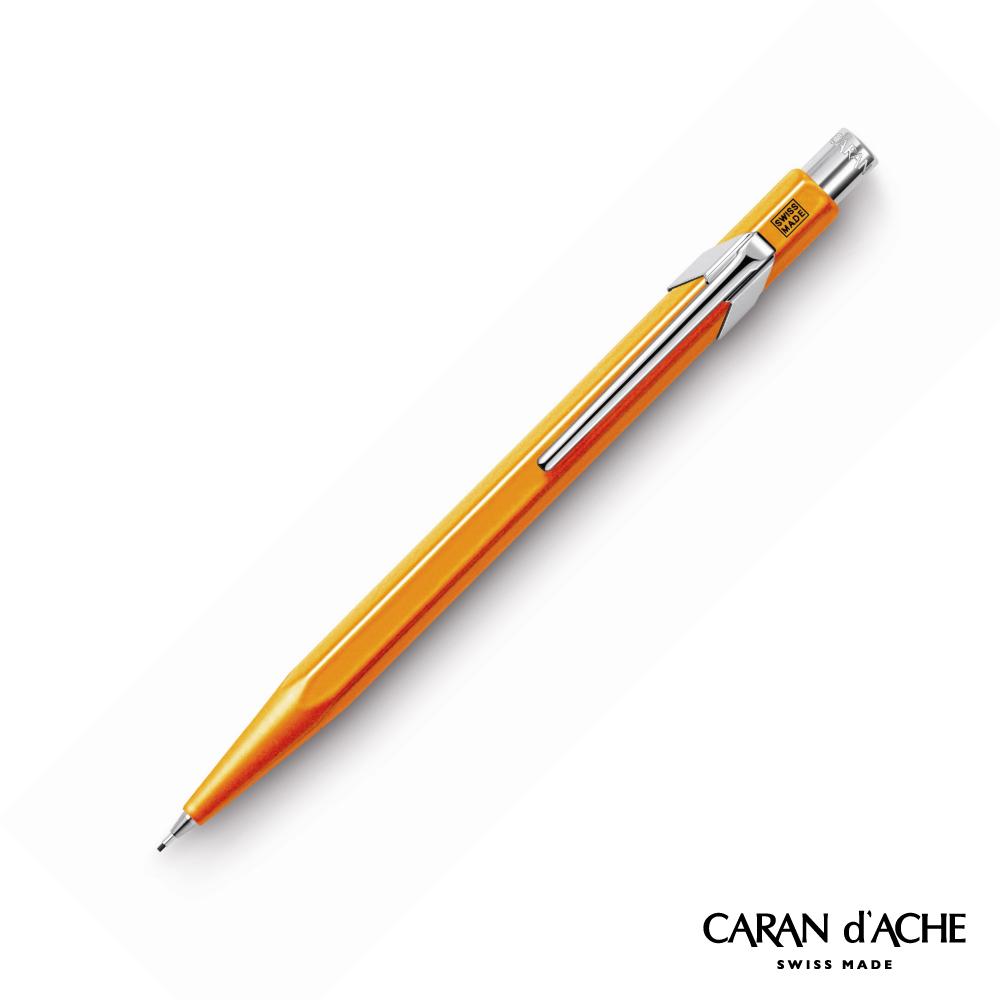 CARAN dACHE 卡達 - Office│line 844系列 螢光橘 自動鉛筆