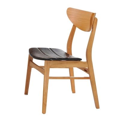 AT HOME-史迪奇原木色餐椅