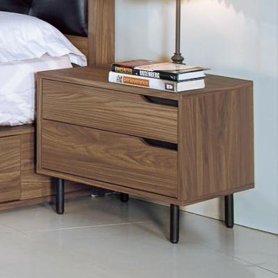 AS-瑪德琳2尺床頭櫃-55x40x45cm