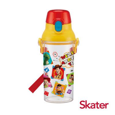Skater直飲透明水壺 (480ml)玩具總動員