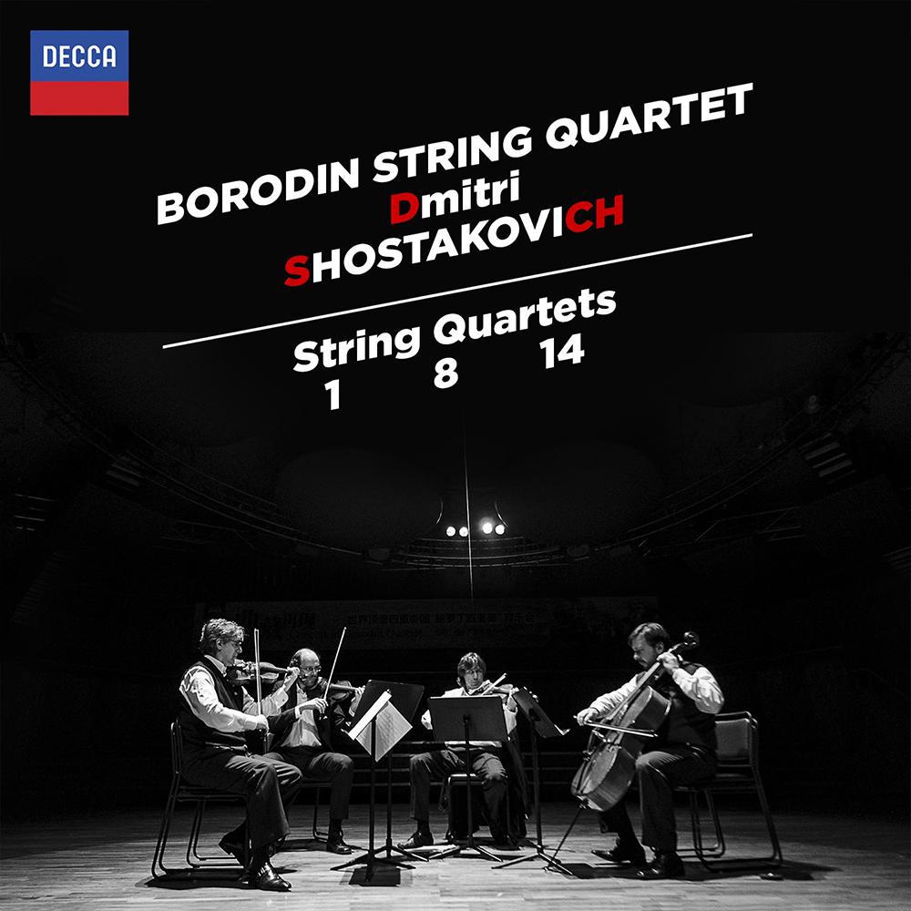 蕭士塔高維契/弦樂四重奏,第1、8、14號(1CD)