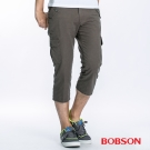 BOBSON 男款貼袋休閒七分褲