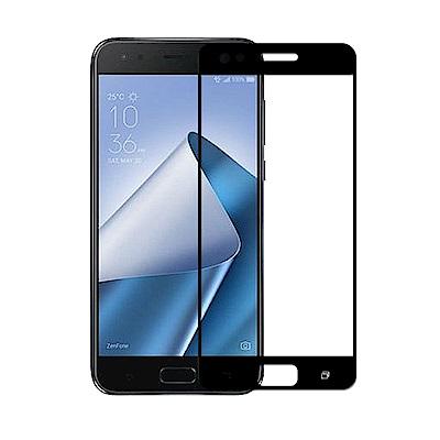 【SSTAR】ASUS Zenfone4 PRO ZS551KL全膠滿版鋼化日規玻璃貼 黑