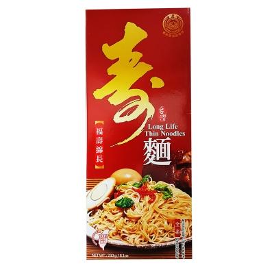 新宏 壽麵線盒裝(230g)