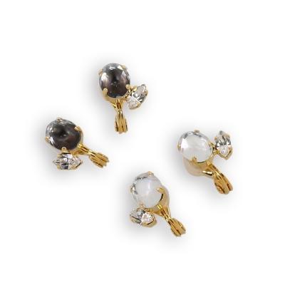 JewCas Air Earring系列施華洛世奇水晶耳環_BJC2267