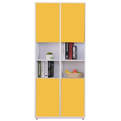 AT HOME-蒂芬妮2.7尺彩色中空書櫃(五色可選)