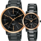 ALBA雅柏 聖誕限定時尚對錶(AH8447X1+AH8449X1)-44+28mm