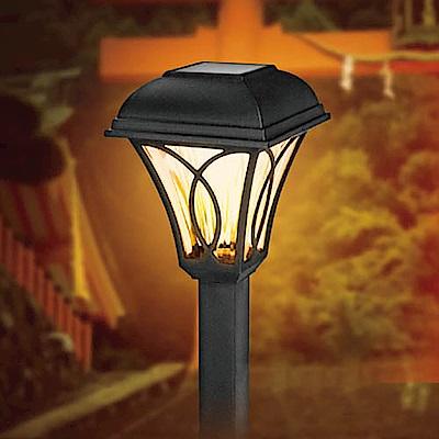 KINYO 太陽能LED庭園燈-黃光(GL-6015)