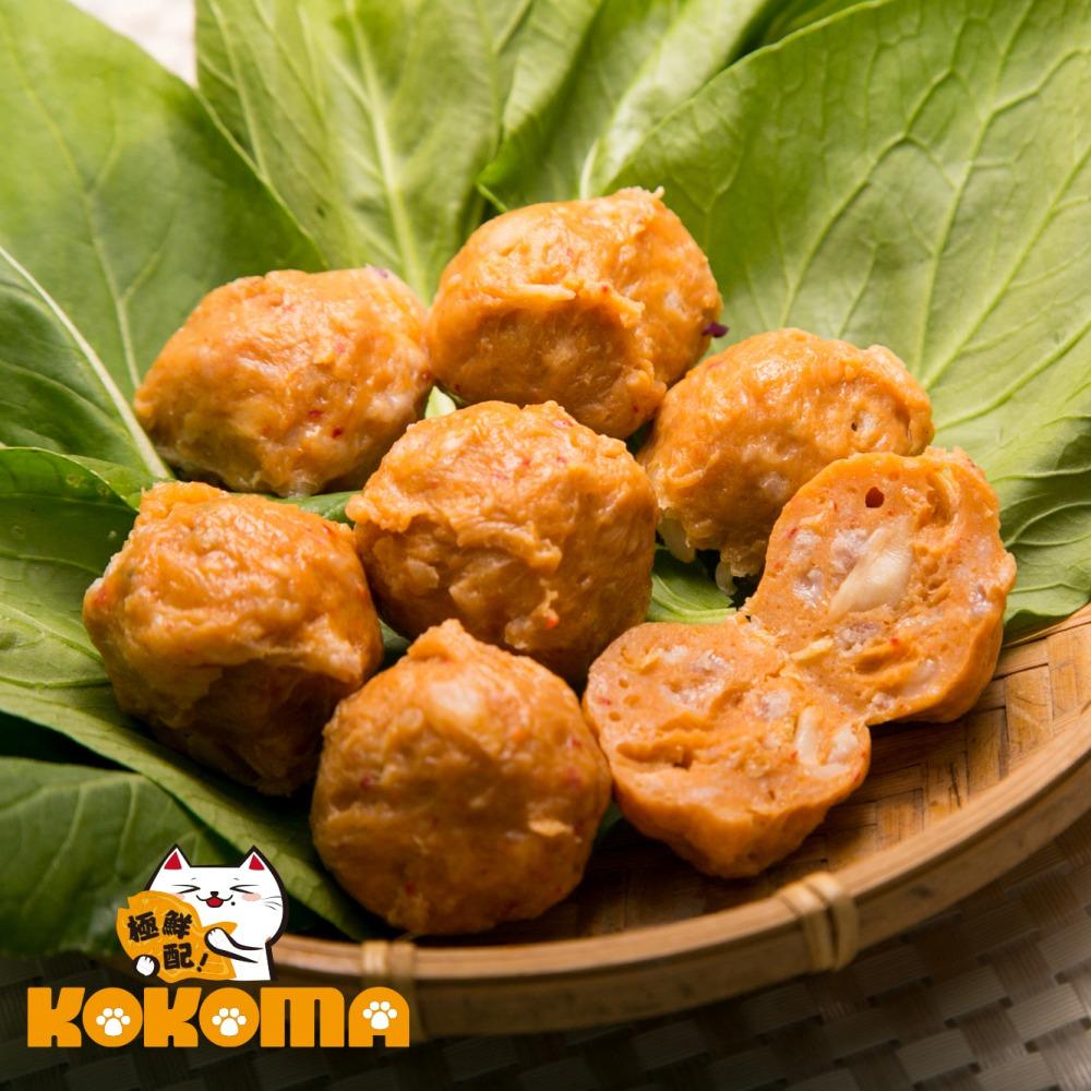 (任選) 極鮮配 泡菜貢丸 (200g±10%/包)-1包