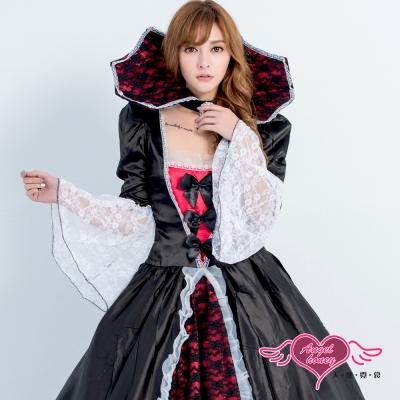 皇后 秘豔皇后 萬聖節風格派對角色扮演服(黑F) AngelHoney天使霓裳