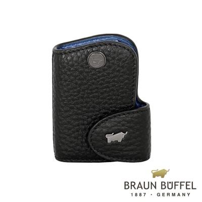 BRAUN-BUFFEL-OSLO奧斯陸系列鑰匙包-摩登黑
