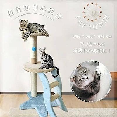 寵喵樂《星星知喵心》貓跳台 AM307