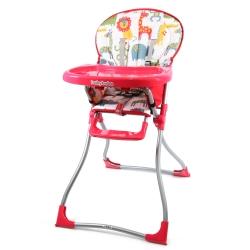 BabyBabe 兒童高腳餐椅(紅色)
