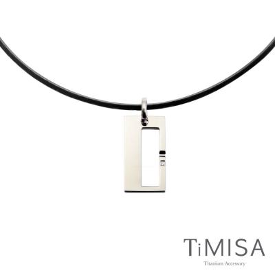 TiMISA《扣住幸福-大》活力鈦項圈