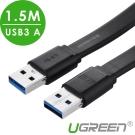 綠聯 USB3 A 公對公傳輸線 1.5M