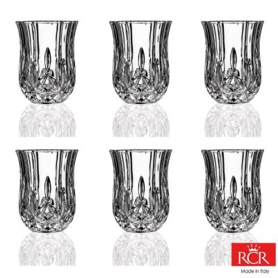 義大利RCR歐普拉無鉛水晶烈酒杯(6入)60cc