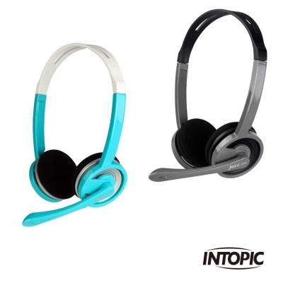 INTOPIC 廣鼎 輕便型耳機麥克風(JAZZ-290)
