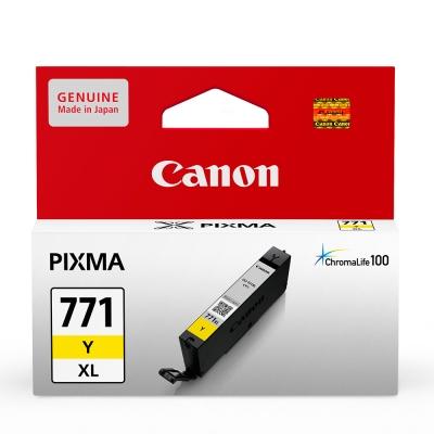 CANON CLI-771XL-Y 原廠黃色高容量墨水匣