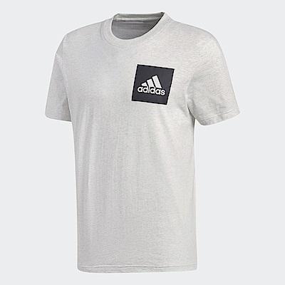 adidas Logo 短袖上衣 男 BS4862