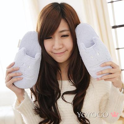 YOYOGO  CRAFTHOLIC 紫芋和菓子貓室內拖鞋