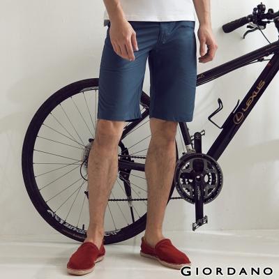 GIORDANO-男裝G-COOL涼感短褲-97深