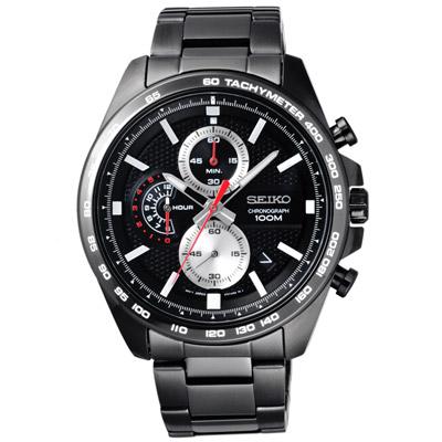 SEIKO  時光結晶時尚日期腕錶-SSB283P1-45mm
