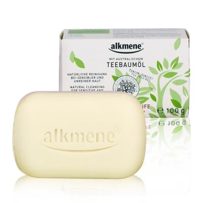 德國alkmene 茶樹精油淨膚抗痘香皂100g