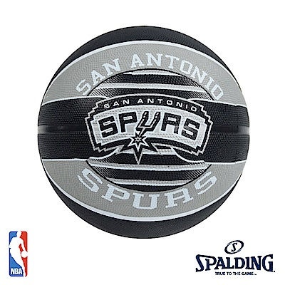 SPALDING 聖安東尼奧 馬刺 Spurs 隊徽籃球 SPA83512