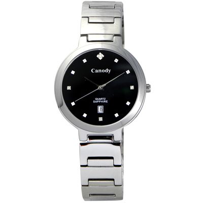 Canody 極度時尚都會女錶(CL1226-A)-黑/29mm