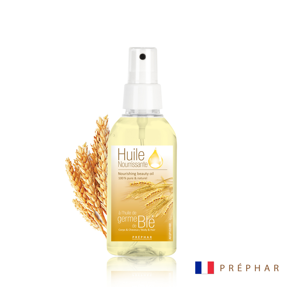 法國PREPHAR修護精華按摩油/小麥胚芽油100ML