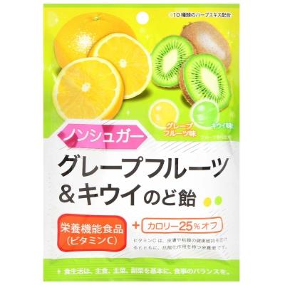 扇雀飴 雙色葡萄柚奇異果糖(43g)