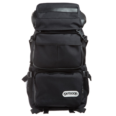 OUTDOOR 都給我黑系列 15吋電腦後背包