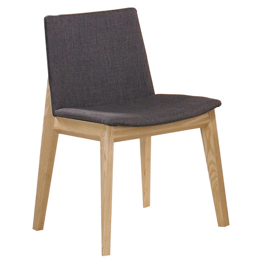 居家生活 萊蒂拉栓木色布餐椅-(兩色可選)