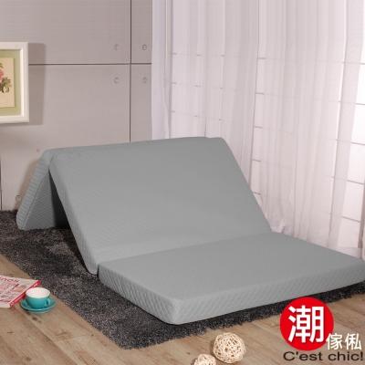 C est Chic 日式三折獨立筒彈簧床墊6尺