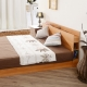 日本直人木業傢俱~5尺原木色雙人床架~簡約收